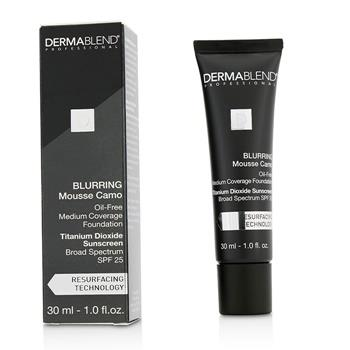 Dermablend Blurring Mousee Camo Oil Free Foundation SPF 25 (Medium Coverage) - #65W Amber 30ml/1oz Make Up