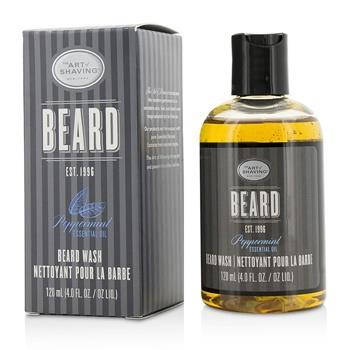 The Art Of Shaving Beard Wash – Peppermint Essential Oil 120ml/4oz Men's Skincare