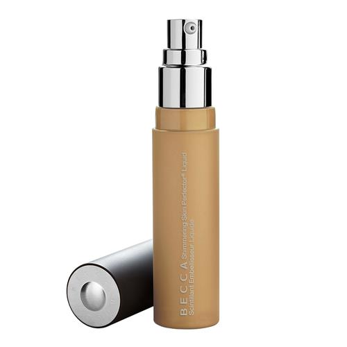 BECCA Shimmering Skin Perfector Liquid Highlighter Prosecco Pop (true, ethereal gold)