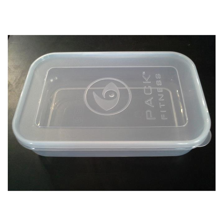 6 Pack Bags Stackable Snap Lid Container (20 oz) 1 pc