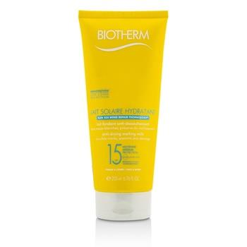 Biotherm Lait Solaire Hydratant Anti-Drying Melting Milk SPF 15 - For Face & Body 200ml/6.76ml Skincare