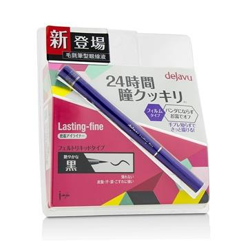 Dejavu Lasting Fine Felt Liquid Eyeliner - # Glossy Black 25g/0.83oz Make Up