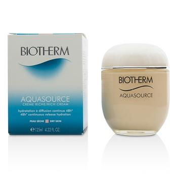 Biotherm Aquasource 48H Continuous Release Hydration Rich Cream – For Dry Skin 125ml/4.22oz Skincare