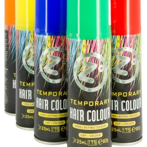 Zo Color Hairspray 125ml – Red