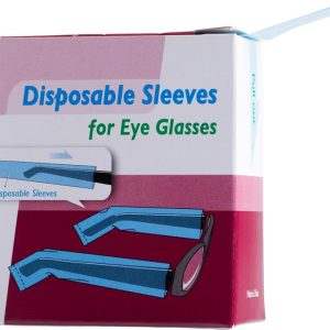 Glasses Protectors Disposable Sleeves for Eye Glasses