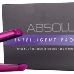 Absolute Heat Mini Purple Straightener Dual Voltage