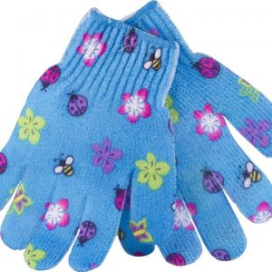 bodytools Body Glove Exfoliating Glove Blue Flower