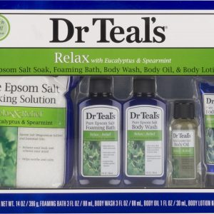 Dr Teals Gift Set - 5pc - Relax & Relief With Eucalyptus & Spearmint
