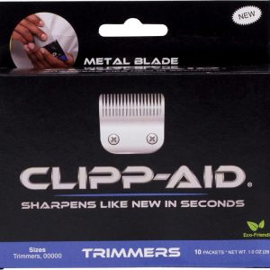 Clipp-Aid For Trimmers & 00000 Size Blades Box of 10 Sachets