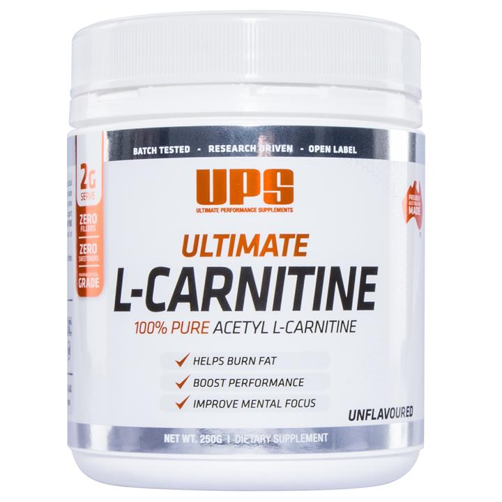 UPS Ultimate Acetyl L-Carnitine 250g