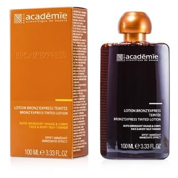 Academie Bronz' Express Face and Body Tinted Self-Tanning Lotion 100ml/3.33oz Skincare