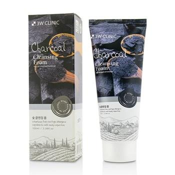 3W Clinic Cleansing Foam – Charcoal 100ml/3.38oz Skincare