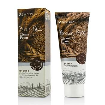 3W Clinic Cleansing Foam – Brown Rice 100ml/3.38oz Skincare