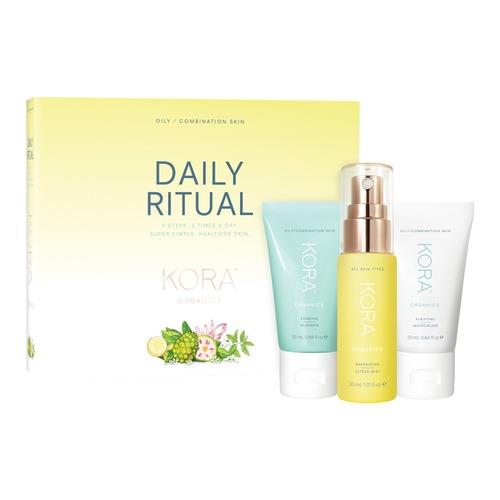 Kora Organics By Miranda Kerr Daily Ritual Kit Oily/combination Skin