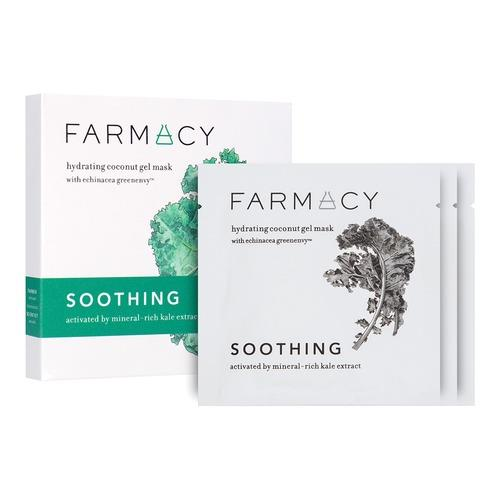 Farmacy Hydrating Coconut Gel Masks Soothing – Kale