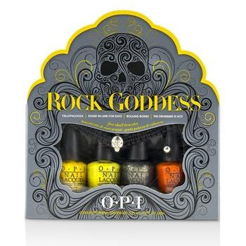 O.P.I Rock Goddess Mini Nail Lacquer Set 5pcs Make Up