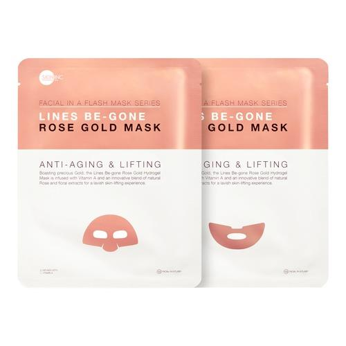 Skin Inc Lines Be Gone Rose Gold Mask 1 Piece