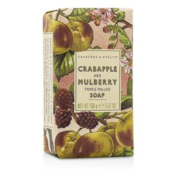 Crabtree & Evelyn Crabapple & Mulberry Triple Milled Soap 158g/5.57oz Skincare