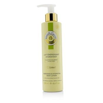 Roger & Gallet Cedrat (Citron) Energising & Hydrating Body Lotion (with Pump) 200ml/6.6oz Ladies Fragrance