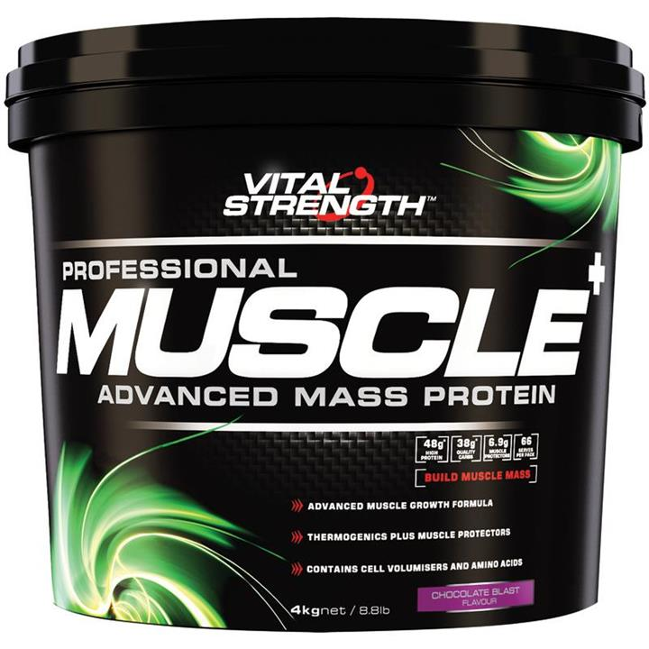 Vital Strength Professional Muscle Advanced Mass Protein 4kg