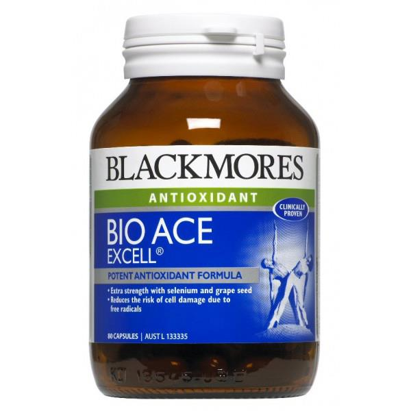 Blackmores Bio ACE Excell 80 Capsules