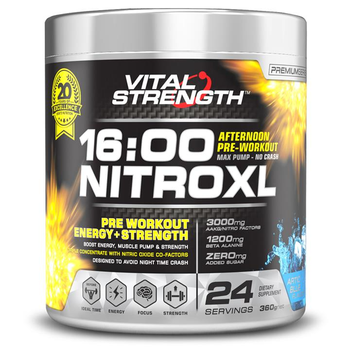 Vital Strength 16:00 NitroXL 360g