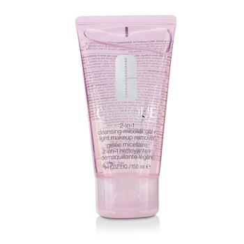 Clinique 2-in-1 Cleansing Micellar Gel + Light Makeup Remover 150ml/5oz Skincare