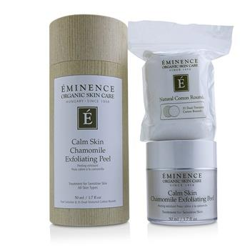 Eminence Calm Skin Chamomile Exfoliating Peel (with 35 Dual-Textured Cotton Rounds) 50ml/1.7oz Skincare