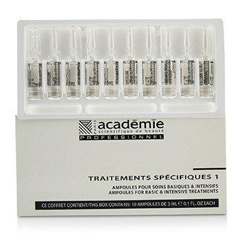 Academie Specific Treatments 1 Ampoules Integral Cells Extracts – Salon Product 10x3ml/0.1oz Skincare