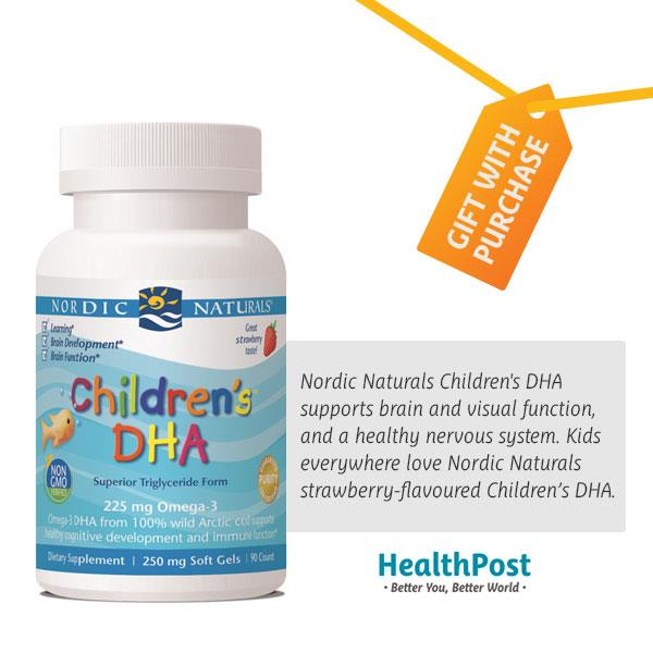 Nordic Naturals Children's DHA - Freebie 90 softgels