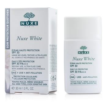 Nuxe Nuxe White Daily UV Protector SPF 30 (For All Skin Types & Sensitive Skin) 30ml/1oz Skincare