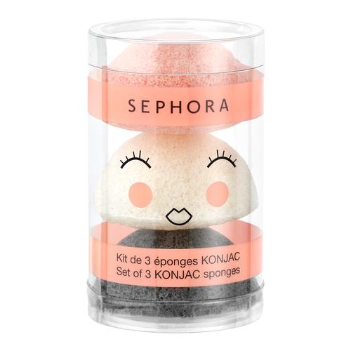 Sephora Collection Mini Konjac Sponges Set