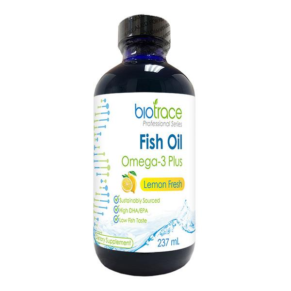 BioTrace Fish Oil Omega-3 Plus – Lemon Fresh 237ml