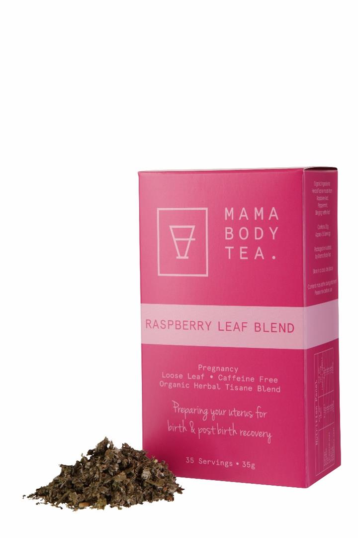 Mama Body Tea – Raspberry Leaf Blend x 35 Serves