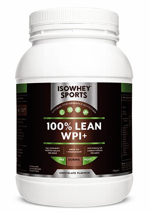 IsoWhey Sports 100% Lean WPI+ Formula (Chocolate) 1.2kg