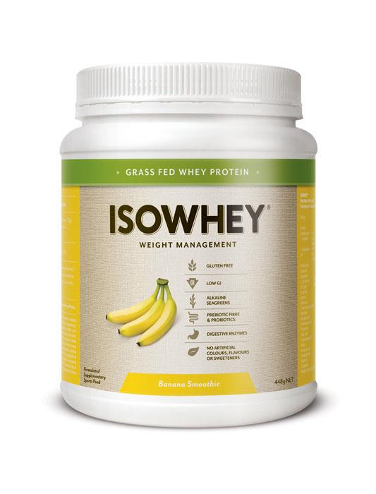 IsoWhey Complete Weight Loss – Banana Smoothie 448g