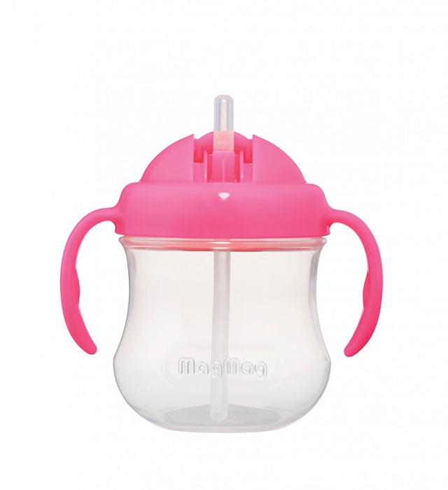 Pigeon Mag Mag Straw Cup – Pink