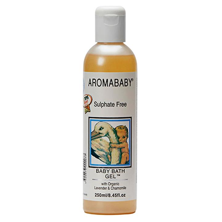 Aromababy Baby Bath Gel With Organic Chamomile 250ml