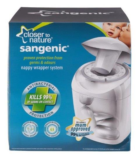 Tommee Tippee Closer to Nature Sangenic Nappy Disposal System