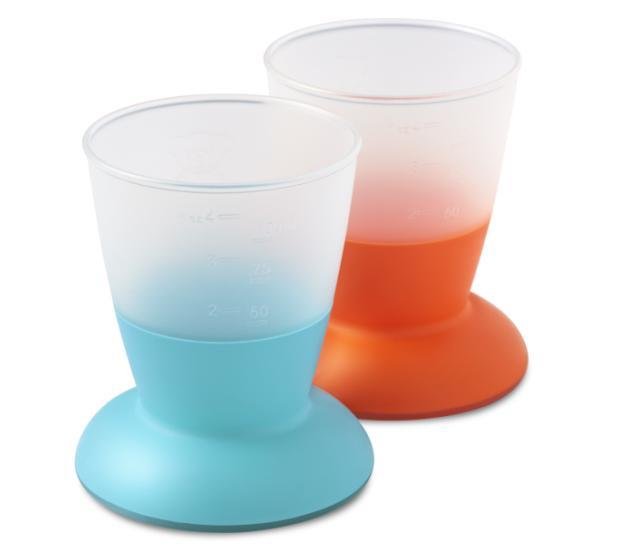 BabyBjorn Baby Cup 2 Pack – Turquoise & Orange