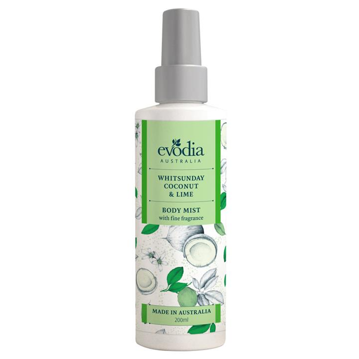 Evodia Whitsunday Coconut & Lime Body Mist 200ml – NO LONGER AVAILABLE