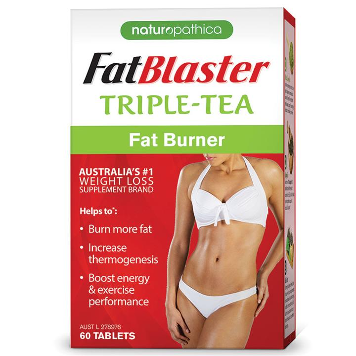 Naturopathica FatBlaster Triple Tea Fat Burner Tab X 60