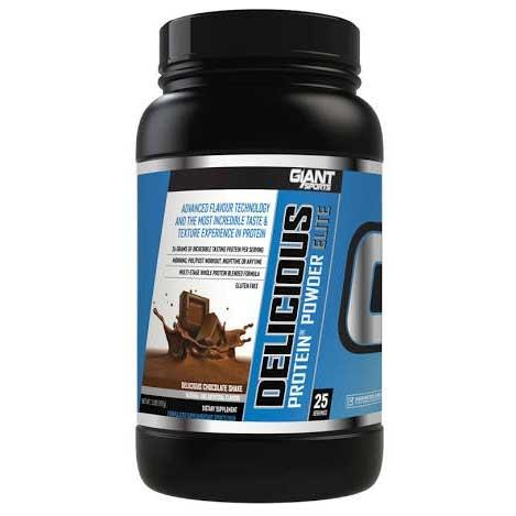 Giant Sports Delicious Elite Protein 2lb Peanut Butter Choc