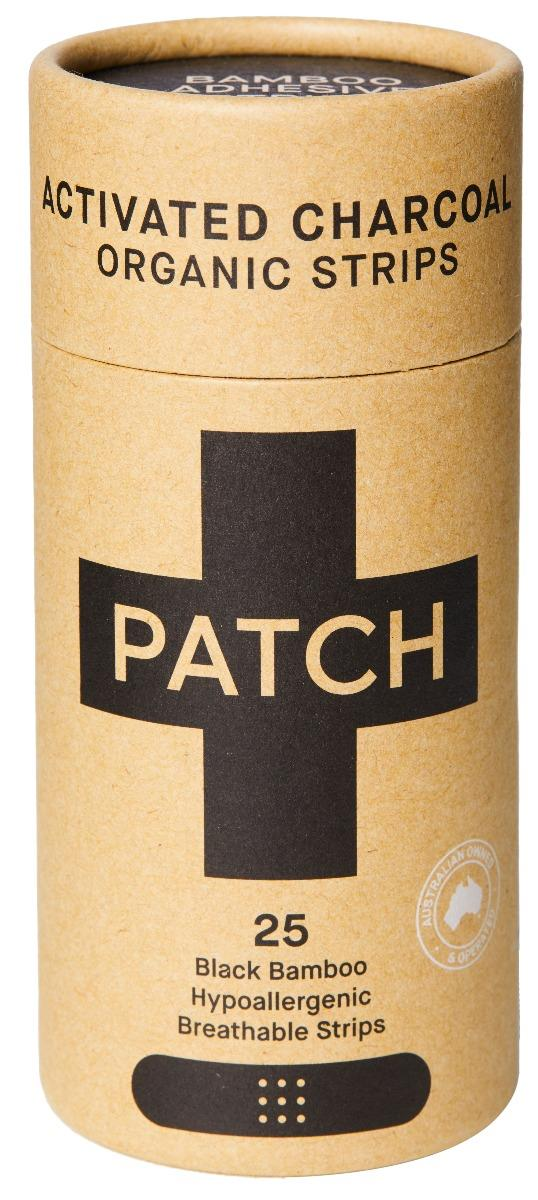 Patch Activated Charcoal Adhesive Strips X 25