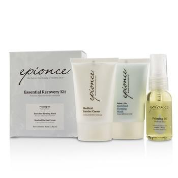 Epionce Essential Recovery Kit: Priming Oil 25ml + Enriched Firming Mask 30g + Medical Barrier Cream 30g 3pcs Skincare