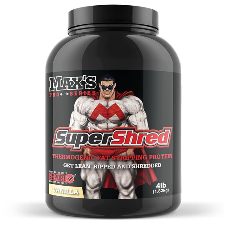 Maxs Pro Series Super Shred 4lb Chocolate