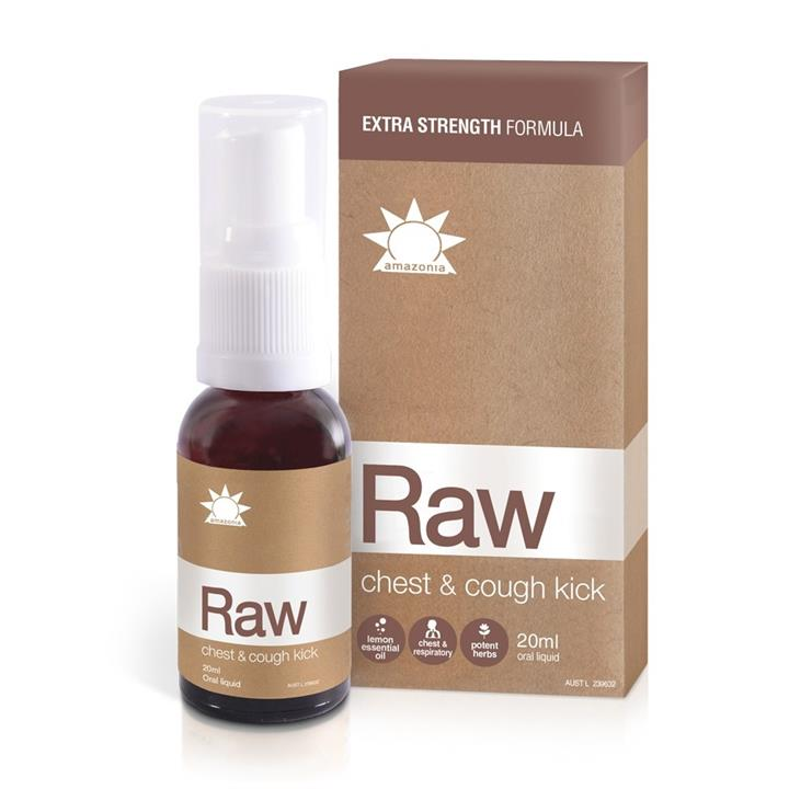 Amazonia Raw Chest and Cough Kick 20ml