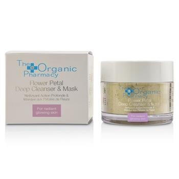 The Organic Pharmacy Flower Petal Deep Cleanser & Mask – For Radiant Glowing Skin 60g/2.14oz Skincare