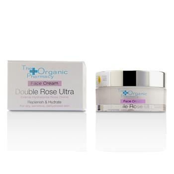 The Organic Pharmacy Double Rose Ultra Face Cream – For Dry, Sensitive & Dehydrated Skin 50ml/1.69oz Skincare