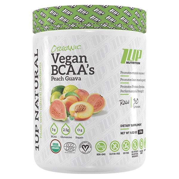 1 Up Nutrition Organic Vegan BCAA 30 Serves